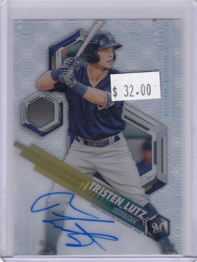 2018 Bowman High Tek #PHT-TL Tristen Lutz NM Near Mint RC Rookie Auto