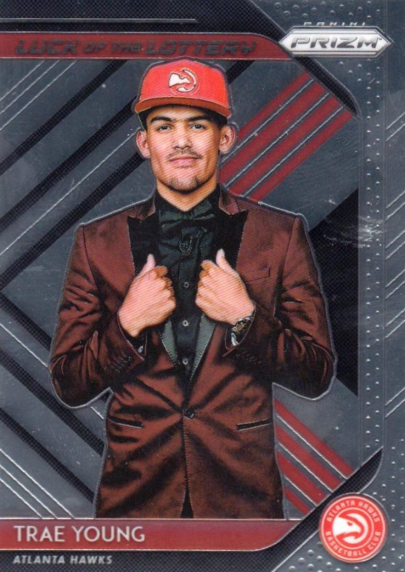2018-19 Panini Prizm Luck of the Lottery #5 Trae Young NM+