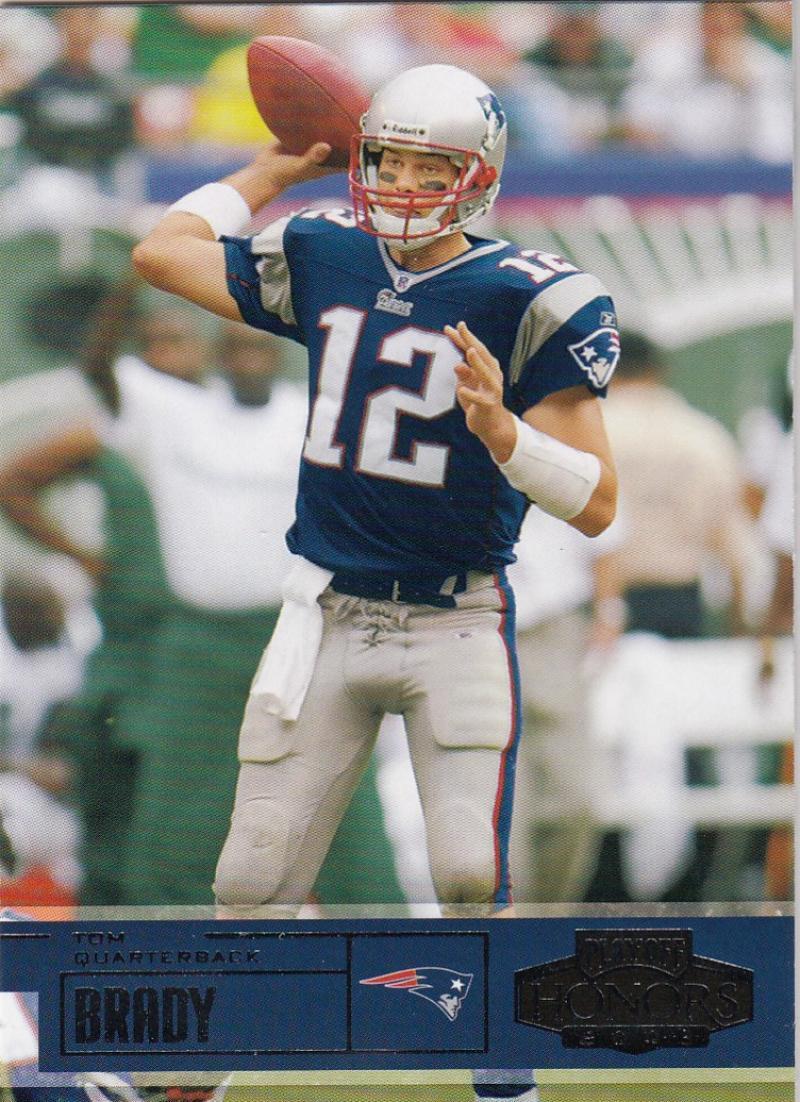 2003 Playoff Honors #90 Tom Brady NM+