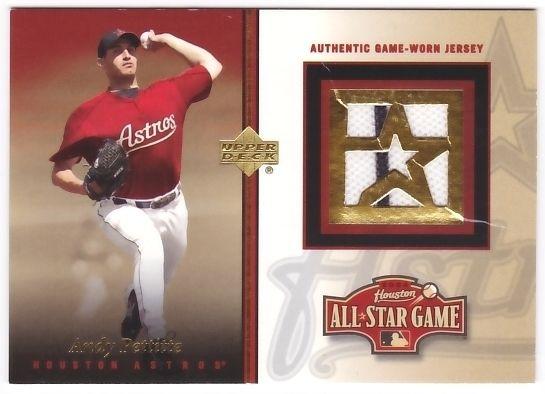 Andy Pettitte 2004 Astros Fanfest Upper Deck JSY