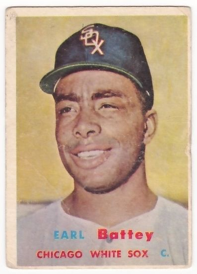 Earl Battey 1957 Topps RC