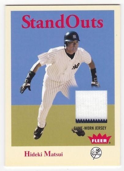 Hideki Matsui 2005 Fleer Tradition Standouts Jersey