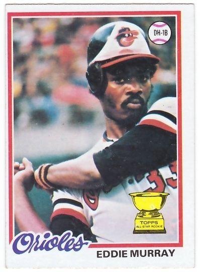 Eddie Murray 1978 Topps RC