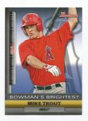 2011 Bowman Bowman's Brightest #BBR6 Mike Trout NM++ RC Rookie