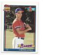 1991 Topps Chipper Jones #333 EX/NM RC Rookie