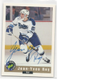 1992 Limited Classic Jean Yves Roy # EX/NM Auto