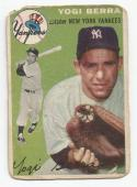 1954 Topps Yogi Berra #50 P Poor
