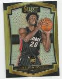2015-16 Panini Select Prizm Justise Winslow #126 NM+ RC Rookie