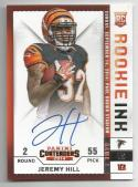 2014 Panini Contenders Rookie Ink Jeremy Hill #RRJ-JH NM+ RC Rookie Auto