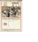 2005 Fleer Authentix Adam Dunn #JA-AD NM+ MEM