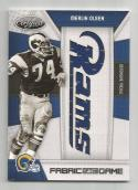 2010 Panini Certified Fabric of the Game Merlin Olsen #104 NM+ MEM 14/25