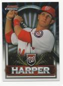 2011 Topps Bowman Chrome Bryce Harper #BCE1 NM-MT+