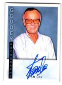 2015 Upper Deck Goodwin Champions Goudey Autographs Stan Lee #GA-SL NM+ Auto