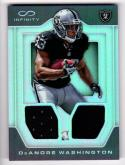 2016 Panini Infinity DeAndre Washington #RDM-18 NM+ MEM 62/88