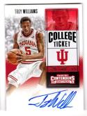 2016 Panini Contenders Draft Picks College Ticket Troy Williams #160 NM+ RC Rookie Auto
