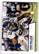 2016 Panini Father's Day Vonn Miller #8 NM+ 30/50