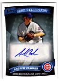 2010 Topps Peek Performance Andrew Cashner #PPA-AC NM+ Auto