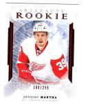 2016-17 Upper Deck Artifacts Ruby Anthony Mantha #166 NM+ RC Rookie 188/299