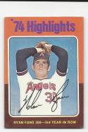 1975 Topps Nolan Ryan #5 G Good