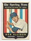 1959 Topps Bob Allison #116