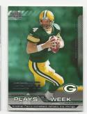 2005 Upper Deck ESPN Plays of the Week Brett Favre #PW-11