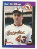 1989 Donruss Curt Schilling DP #635 RC Rookie