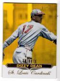 2011 Topps Tribute Gold Dizzy Dean #39 NM+ 10/50