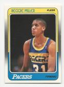 1988-89 Fleer Reggie Miller #57 VG/EX Very Good/Excellent RC Rookie