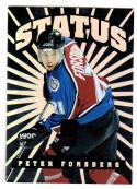 1997 Donruss Elite Status Peter Forsberg #7 NM+ 323/750