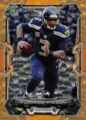2015 Bowman Gold Cracked Ice ? Russell Wilson #100 NM+ 2/50