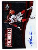 2016-17 Panini Totally Certified Signed Sealed Delivered Hakeem Olajuwon #17 NM+ Auto 22/75