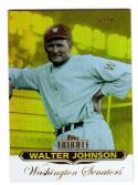2011 Topps Tribute Walter Johnson #19 NM+ 37/50