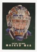 2008-09 ITG Between The Pipes Masked Men Gold Peter Delmas #16