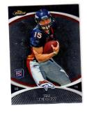 2010 Topps Finest Tim Tebow #100 NM+ RC Rookie