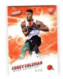2016 Panini Father's Day Corey Coleman #51 NM+ RC Rookie 32/50
