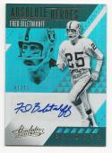 2017 Absolute Absolute Heroes Autographs Gold Fred Biletnikoff #AHAFB NM Near Mint Auto 1/10