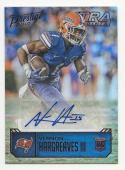 2016 Prestige Rookie Autographs Xtra Points Red Vernon Hargreaves III #VH NM Near Mint RC Rookie Auto