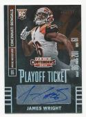 2014 Panini Contenders Playoff Ticket James Wright #194 NM Near Mint RC Rookie Auto 51/199