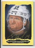 2013-14 Ultimate Collection Ultimate Signatures Masterpiece Scott Hartnell #USMSH NM Near Mint Auto