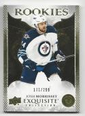 2016-17 Exquisite Collection Gold Rookies Josh Morrissey #R8 NM Near Mint RC Rookie 171/299