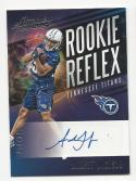 2017 Panini Absolute Rookie Reflex Auto Adoree' Jackson #RRAJ NM Near Mint RC Rookie Auto 254/325