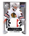 2015-16 Upper Deck SP Game Used All Star Skills Fabric Corey Crawford #AS-20 NM+ MEM