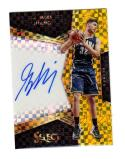 2016-17 Panini Select Prizm Georges Niang #35 NM+ Auto 3/10