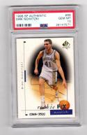 1998 SP Authentic Dirk Nowitzki #99 PSA 10 GEM MINT RC Rookie