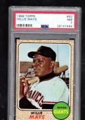 1968 Topps Willie Mays #50 PSA 7 NM