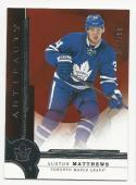 2016-17 Upper Deck Artifacts Auston Matthews #RED207 NM Near Mint RC Rookie 343/799