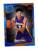 2017 18 Panini Donruss Lonzo Ball #199 NM Near Mint RC Rookie