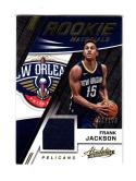 2017 18 Panini Absolute Memorabilia Frank Jackson #RM-FJK NM Near Mint RC Rookie MEM 101/199