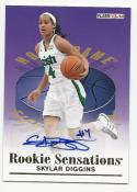 2013 14 Fleer Retro Skylar Diggins #RS-14 NM Near Mint RC Rookie Auto