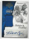2016-17 Panini Court Kings Robert Covington #28 NM Near Mint MEM Auto 135/199